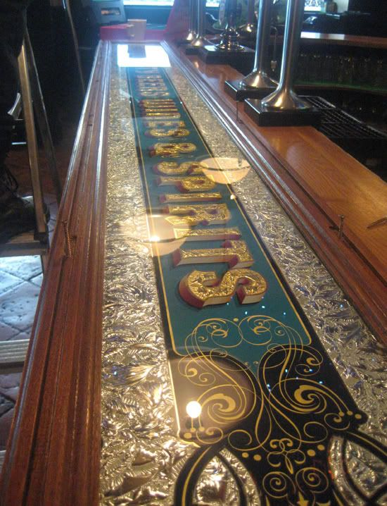 Beautiful bar top- by Dave Smith