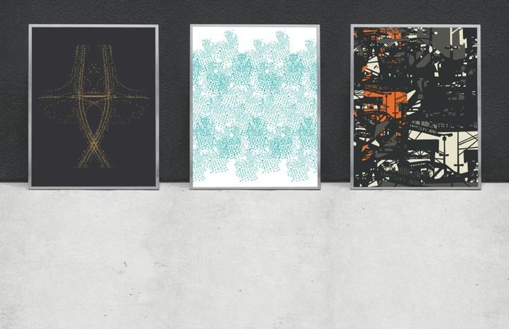 Posters by Julia Heurling