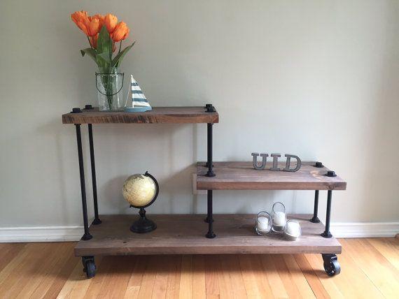 1000 id es sur le th me table industrielle sur pinterest industriel lampes et ameublement. Black Bedroom Furniture Sets. Home Design Ideas