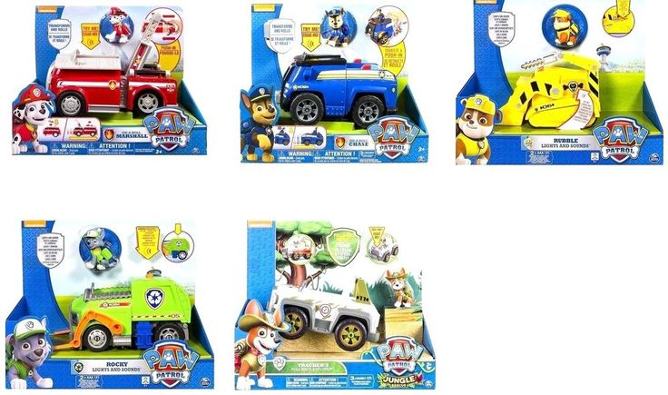 There's no job too big and no pup too small with the Paw Patrol On-A-Roll/ Lights & Sounds Vehicles! Spring into action as you place Chase onto his doghouse and see it transform into a full sized deluxe police cruiser, or watch as Marshall's doghouse turns into a rescue fire truck! | eBay!