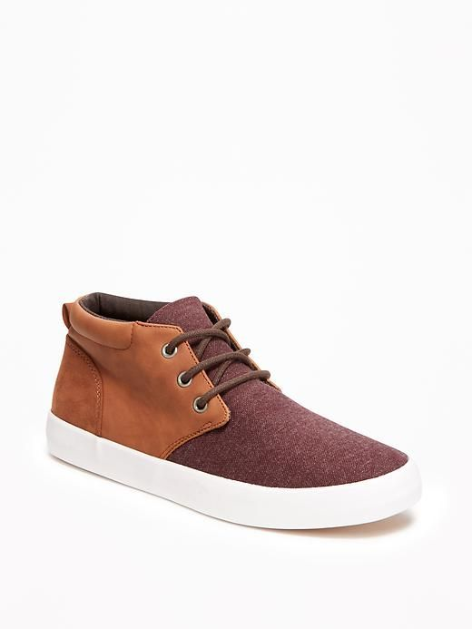 Color-Blocked Sneakers for Boys