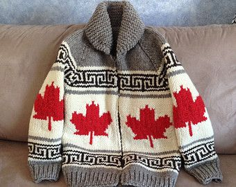Cowichan Sweater - Oh Canada! Pattern