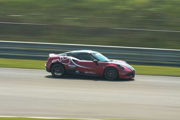 Alfa romeo 4C at circuitparkzandvoort Photo by Richard Kant