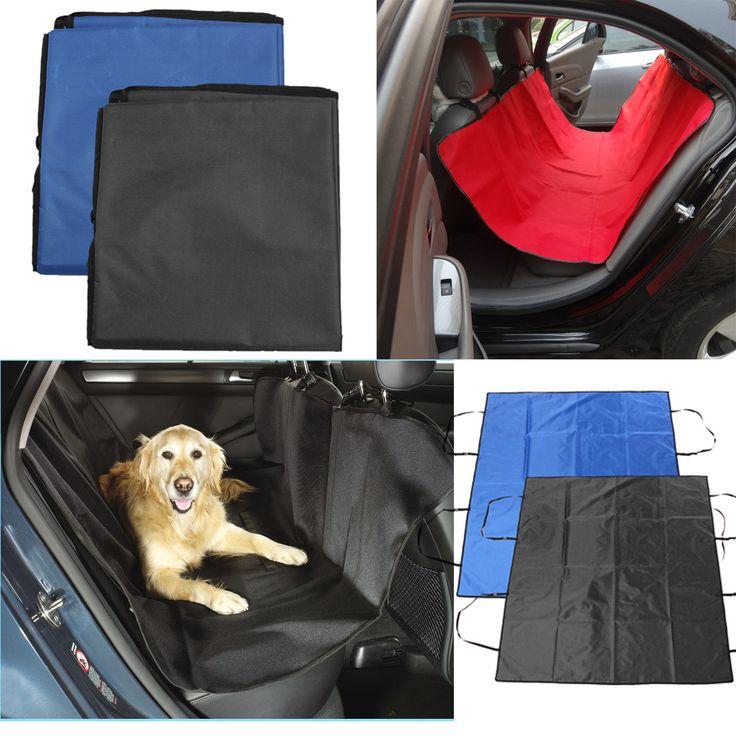 Waterproof Pet Cat Dog Car Seat Cover Hammock Protector Mat Blanket