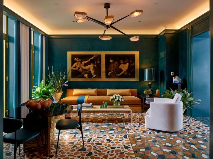 Awesome 15 Ways To Decorate With Rich Peacock Blue