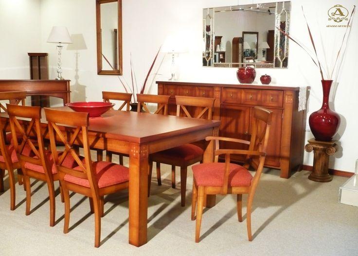 Mesa comedor cyrano te proponemos un ambiente ideal con for Ver comedores de madera