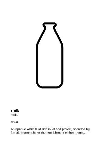 The Milk Collective Milk Print