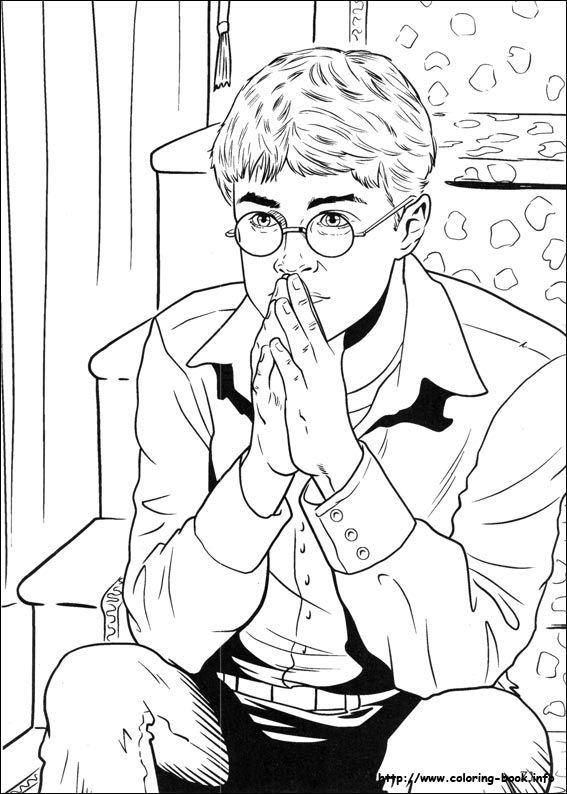 210 best harry potter coloring pages images on pinterest | adult ... - Harry Potter Coloring Pages Ginny