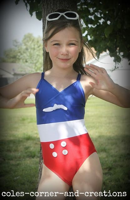 15 Best Images About Patriotic Swimsuits To Make On Pinterest
