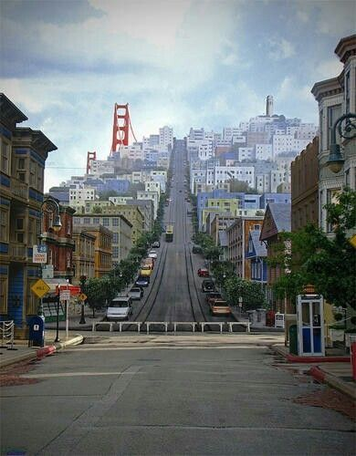 San Francisco - what a great city.  So much to see and do.