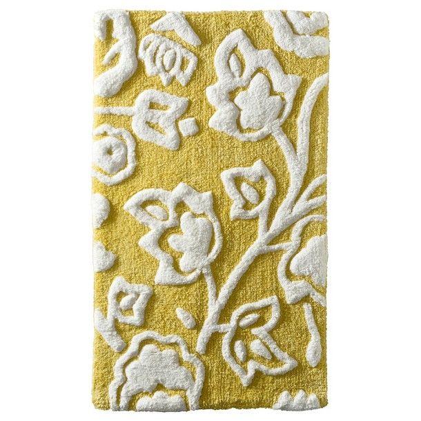 Best Bath Images On Pinterest Bath Rugs Aqua And Bamboo - Gold bath rugs for bathroom decorating ideas