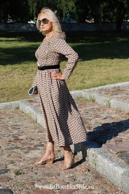 Babooshka Style - Blog modowy: Maxi dress