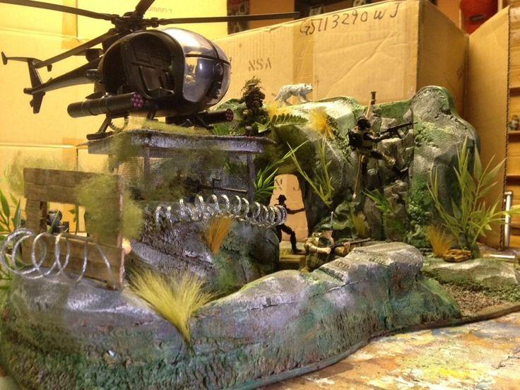Custom Gi Joe Diorama  (The bunker)