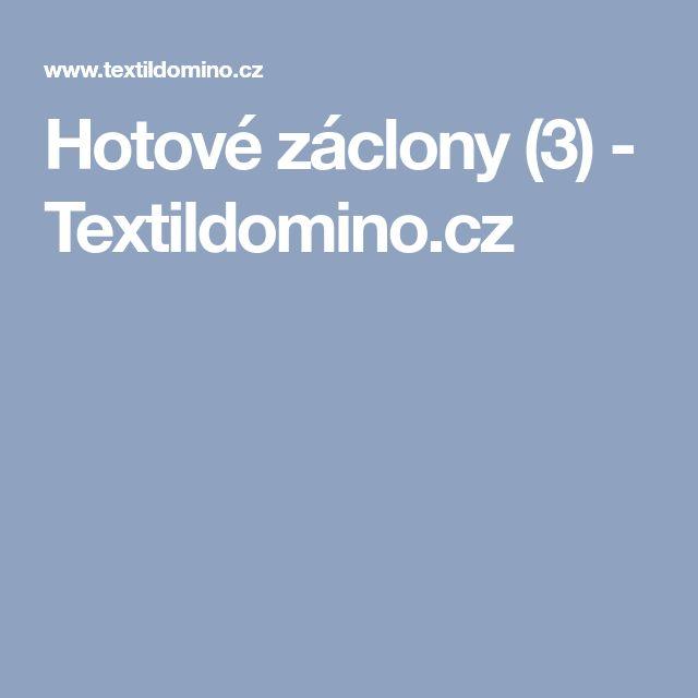 Hotové záclony  (3) - Textildomino.cz