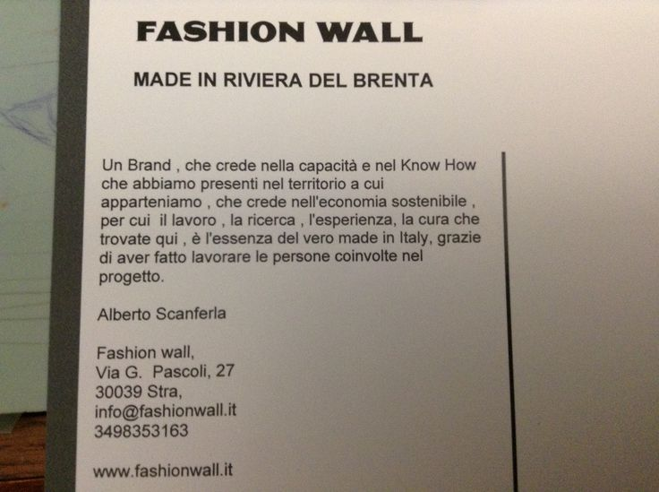 Www. Fashionwall.it