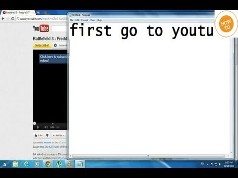 How to Download Youtube Videos WITHOUT Software Online Quick, Easy  FREE (Method 2)