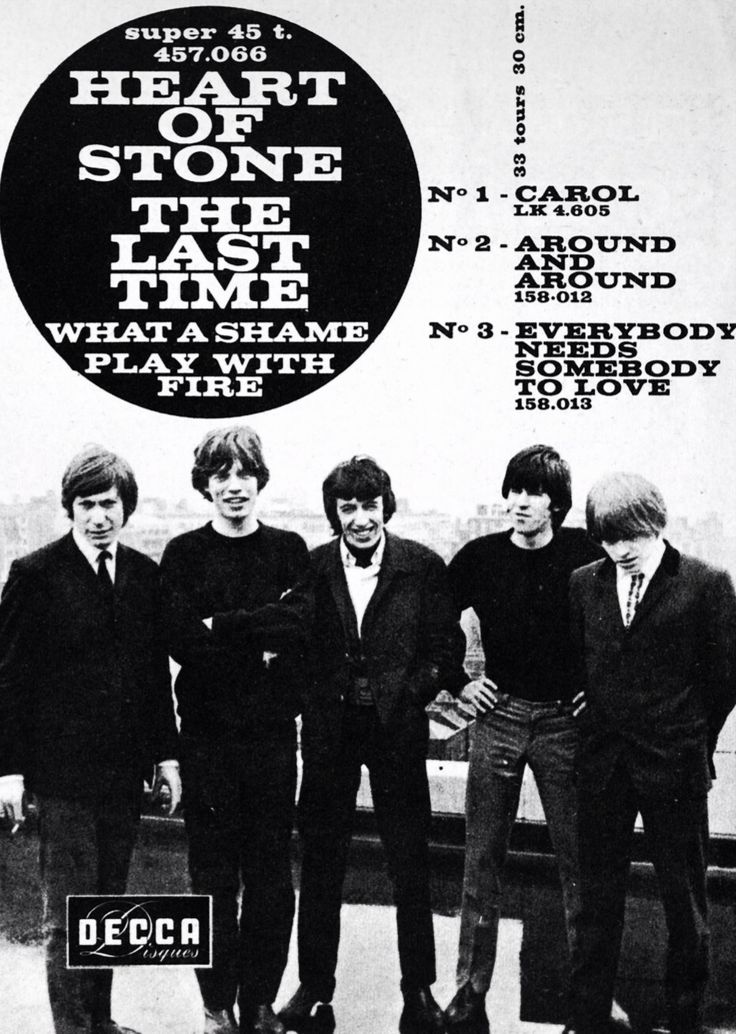 the rolling stones // record release