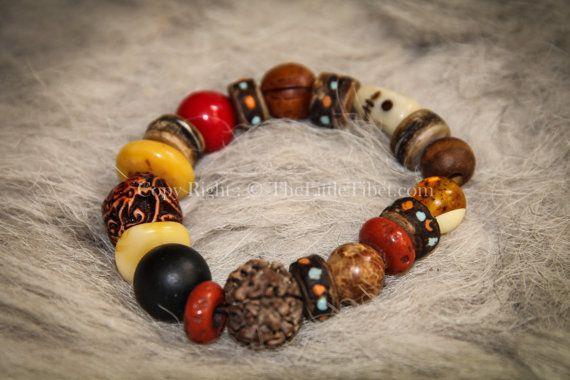 Mixed Beads Tibetan Braclet by TheLittleTibet on Etsy #yakbone #turquoise #tibetan #mala #prayer #necklace #coral #inspired #buddhist #artisan #handicraft #beads #ethical #bohemien #independence #lhasa #thelittletibet