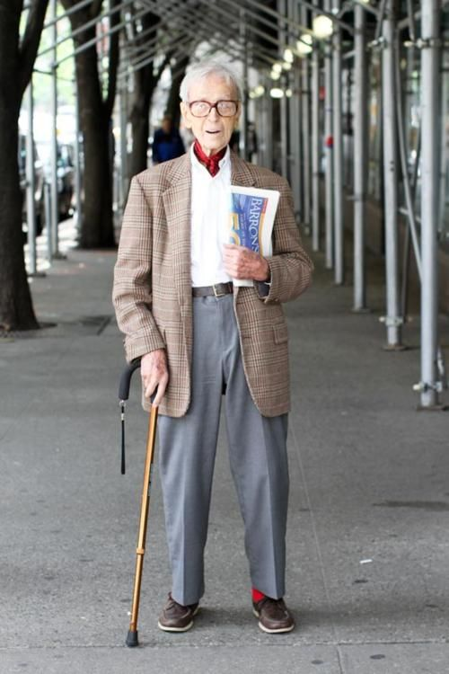 """I'm 99 years old. Everything from my neck down is shit. But everything from my neck up is as good as anyone else. How lucky is that?""  From the great blog, ""Humans of New York"""