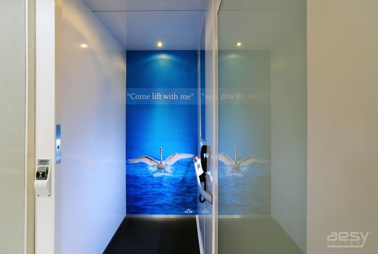 Personalized lift design inspired by KLM.