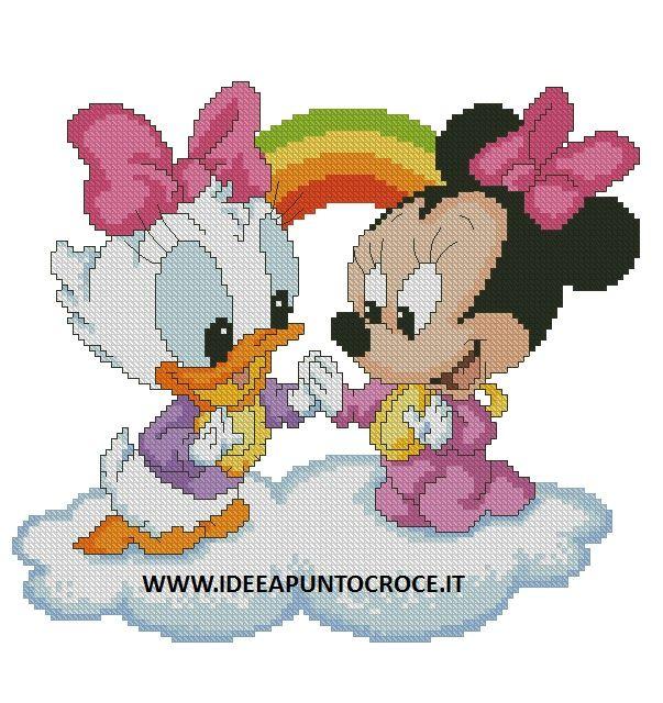 521 best mickey mouse images on Pinterest | Kreuzstich ...