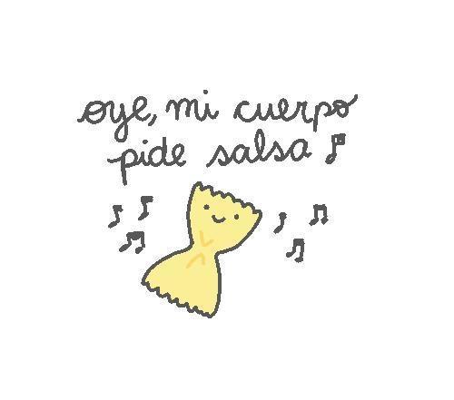 ♫ ♪ ♪ Oye, mi cuerpo pide salsa!! ♫ ♪ ♪