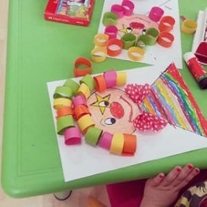 clown craft idea for kids (2)