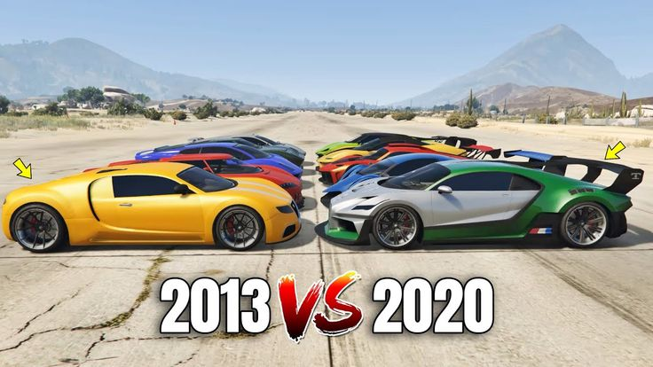 GTA 5 Online 2013 SUPERCARS VS 2020 SUPERCARS (WHICH IS