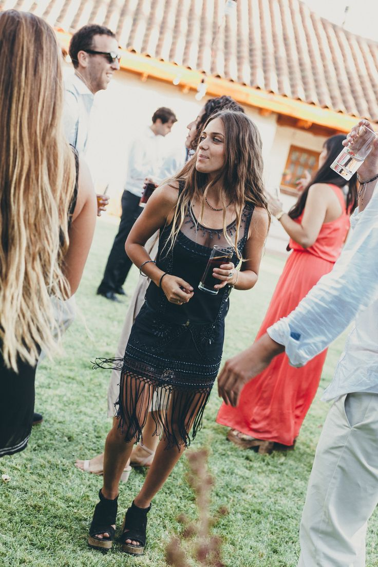Spring Summer Outdoor Wedding Outfit Beautiful Sequined Embroidered Black Bottom Fringed Mini Dress