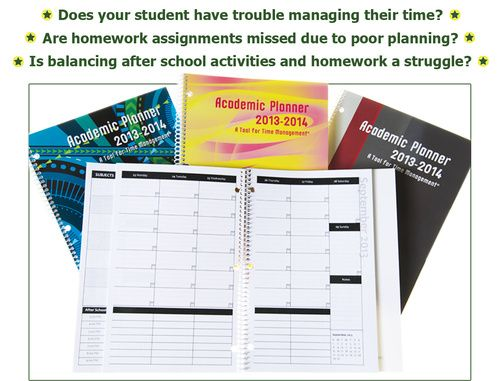 Best Academic Planner for ADHD and those who struggle with time management: Academic Planner – A Tool for Time Management®, Order out of Chaos