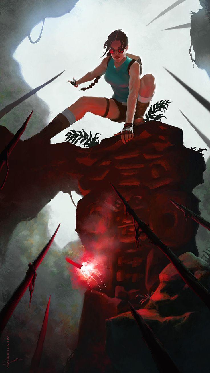 ArtStation - Tomb Raider, Gabriella Liv Eriksson