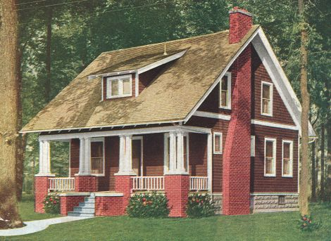 Craftsman Exterior Finish A Warm Reddish Brown Wood