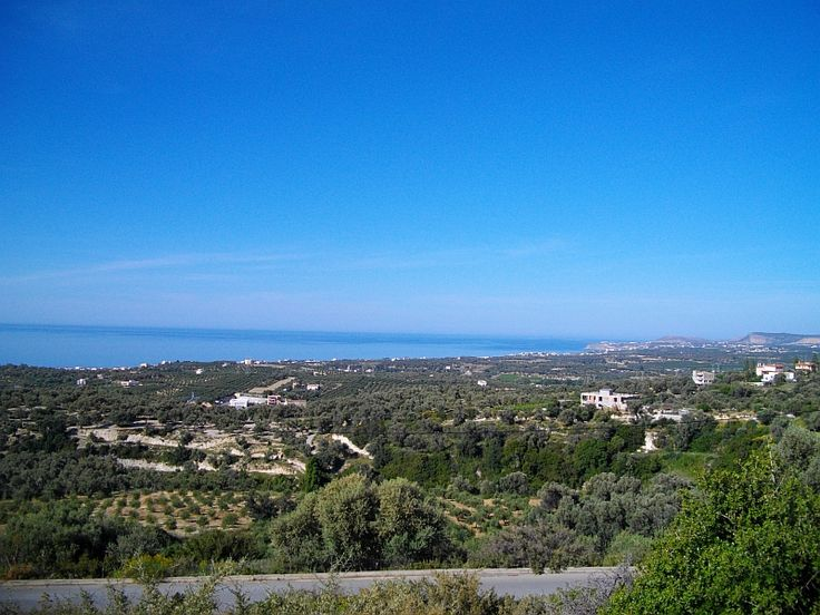 Building plot in Maroulas for sale, Rethymno, Crete, Greece