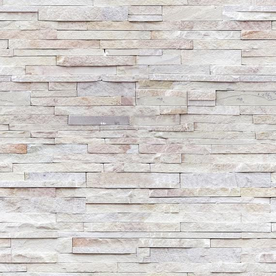 Beige Faux Stone Peel And Stick Removable Wallpaper 7227 Etsy Faux Stone Walls Stick On Tiles Wallpaper Panels