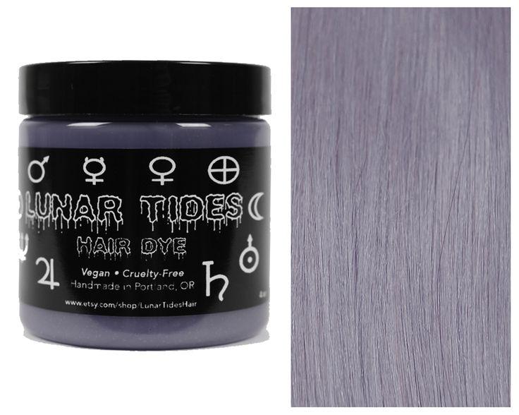 Silver Grey Hair Dye https://www.etsy.com/listing/294635727 Lunar Tides Hair