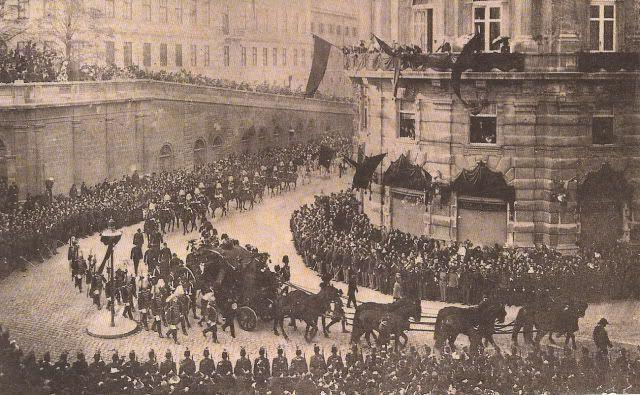 Funeral of Empress Elisabeth of Austria in Vienna
