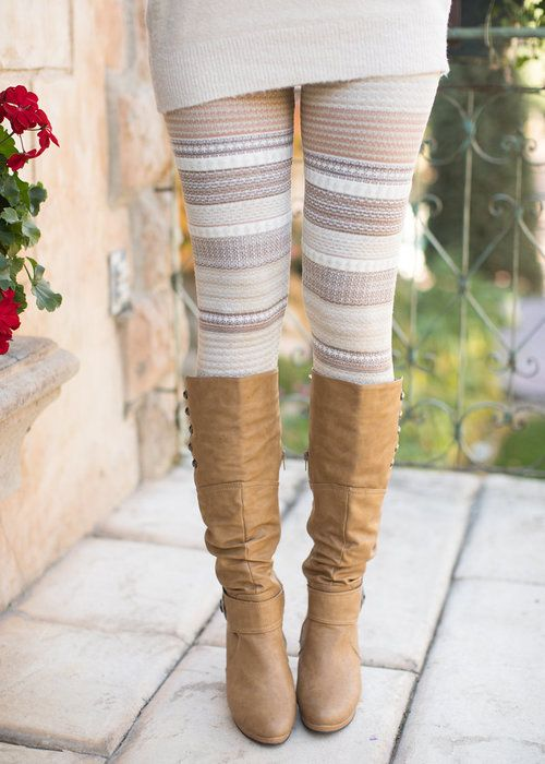 Oh My Leggings Oat Mocha - Modern Vintage Boutique