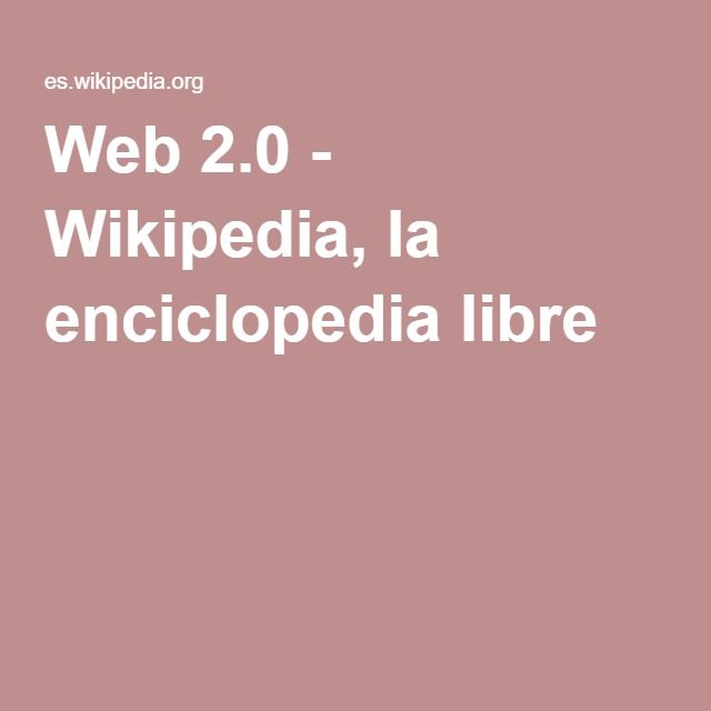 Web 2.0 - DONE
