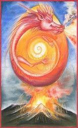 Strážce první brány - Strážce prahmoty Člověče, přišel jsi na tuto zem produchovnit hmotu. Nabízím Ti pevnou půdu pod nohama a výživu Matky Země. Jsem Život sám, jsem klíčem k síle a lásce Matky Země. Klíčem k hojnosti tohoto světa. Jsem duchovní probuzení ve hmotném těle. Člověk jako pán nad hmotou, nad její tíhou. Tajemství hmoty dlí v jejím středu - jádru tak, jako střed planety Země.