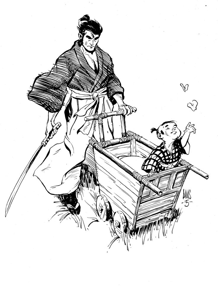 Lone Wolf And Cub by Paul Smith