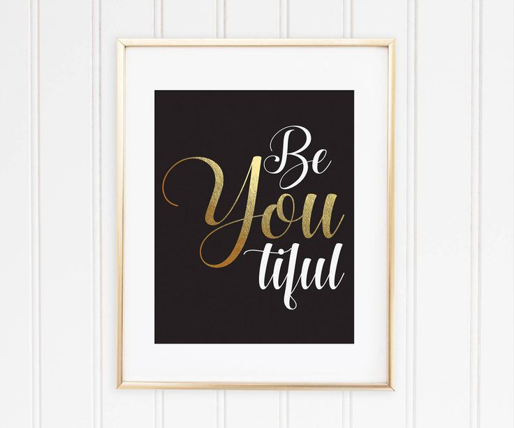 Un favorito personal de mi tienda de Etsy https://www.etsy.com/es/listing/561238427/be-you-tiful-print-beyoutiful-printable