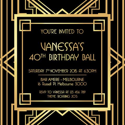 17 Best images about Adult Birthday Invitations Party – 21st Invitation Templates