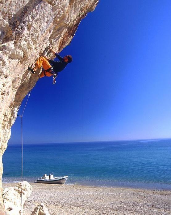 Twitter / StoneMonkeyCo: What a beautiful climb. Sardinia ...
