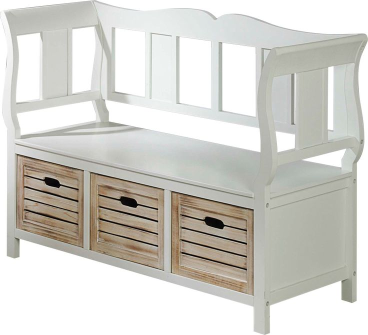 Most Affordable Furniture Store: PAULINA Bench White
