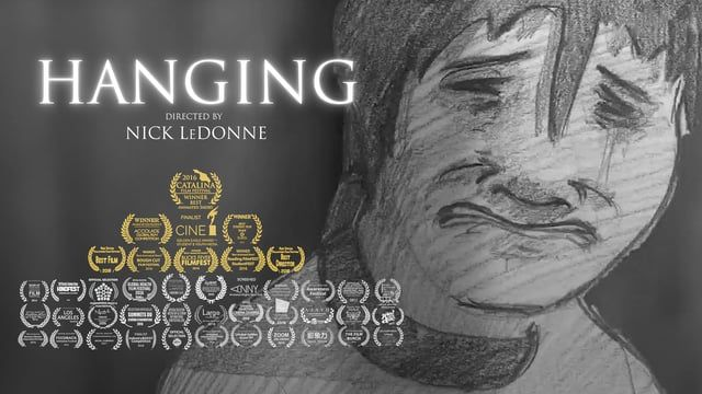 """An abstracted animated documentary based off of Nick LeDonne's personal struggle with depression and suicidal thoughts after a near attempted hanging in November 2014. His feelings of depression are personified through a dark luring fog and a loving mother desperately trying to keep her son alive.    """"HANG ON"""" - National Suicide Prevention Lifeline: 1-800-273-8255                       - Trevor Project LGBTQ Lifeline: 866-488-7386    FESTIVALS & AWARDS  """"Best Animated Short"""" - Catalina Film…"""
