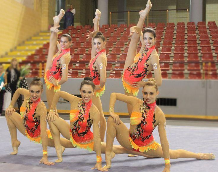 gimnastas ritmicas españolas -