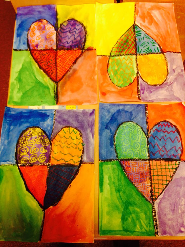 17 best images about valentines day on pinterest the for My first watercolor painting