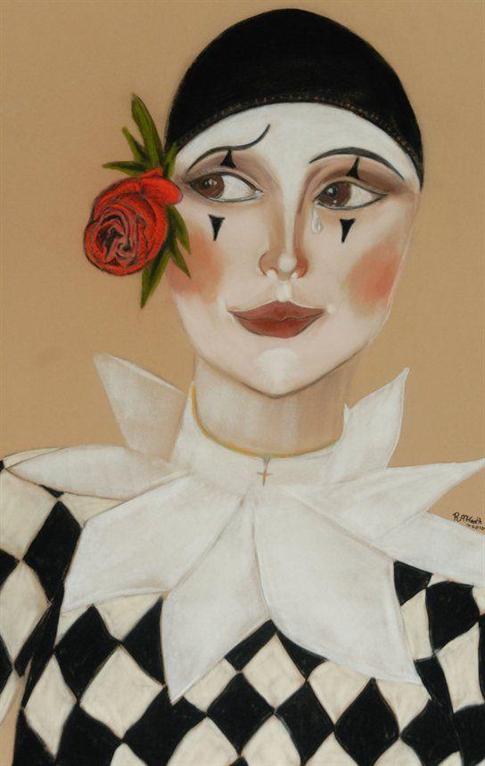 Tears of a Clown ~ by Rob Heath