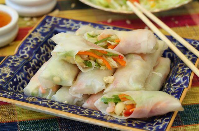 Beela Bakes: Vietnamese Rice Paper Rolls
