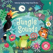 Usborne Touchy Feely Sound Books - Jungle Sounds